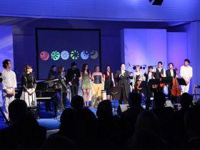 Otvoritev EPK v Slovenj Gradcu, aranžma za Majo Keuc in Escape String Quartet