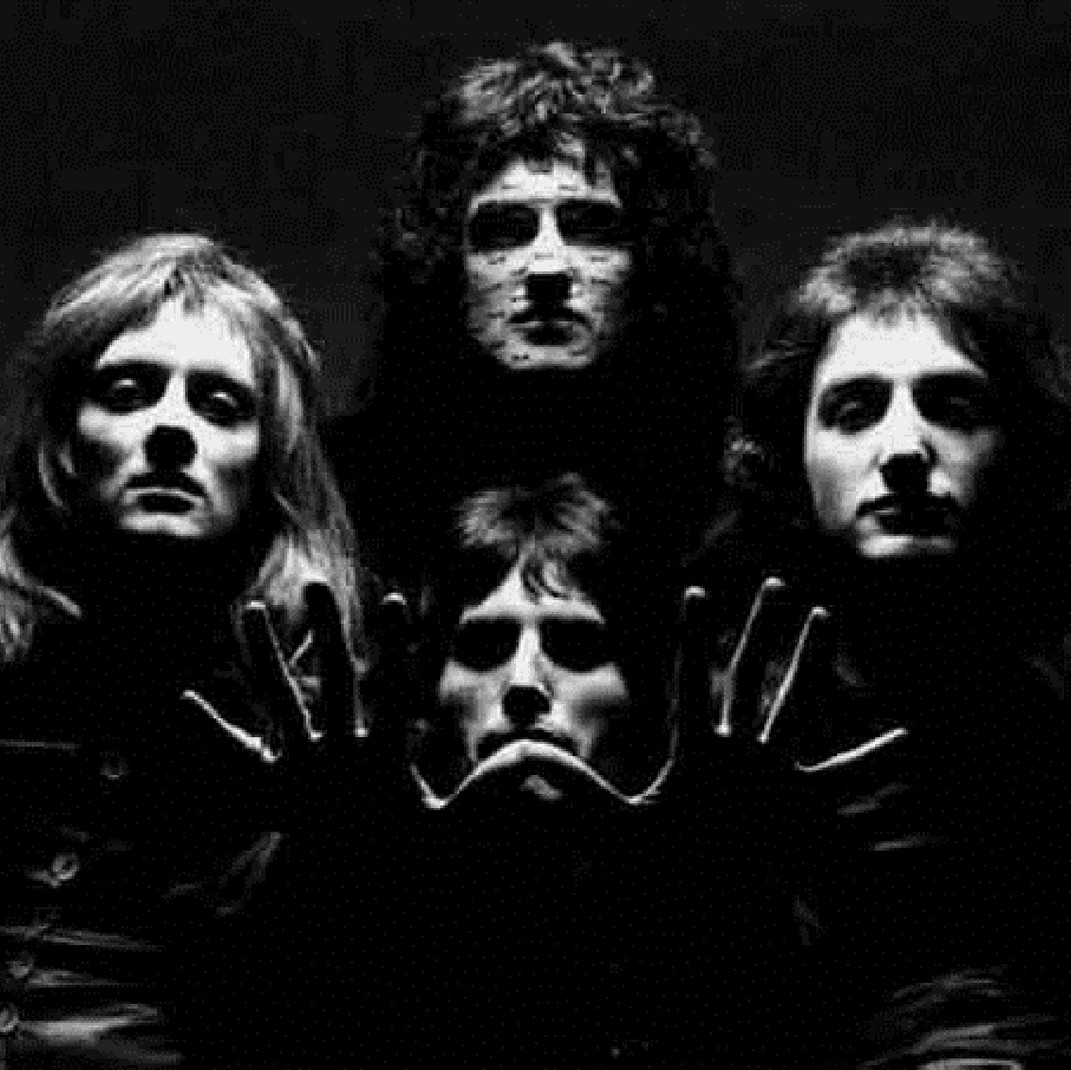 """queen bohemian rhapsody About """"bohemian rhapsody"""" considered one of the greatest songs of all time , """"bohemian rhapsody"""" was the first single released from queen 's fourth studio album, a night at the opera  it became an international success, reaching #1 in five countries and peaking at #9 in the united states."""